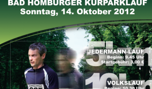 Bad Homburger Kurparklauf 2012